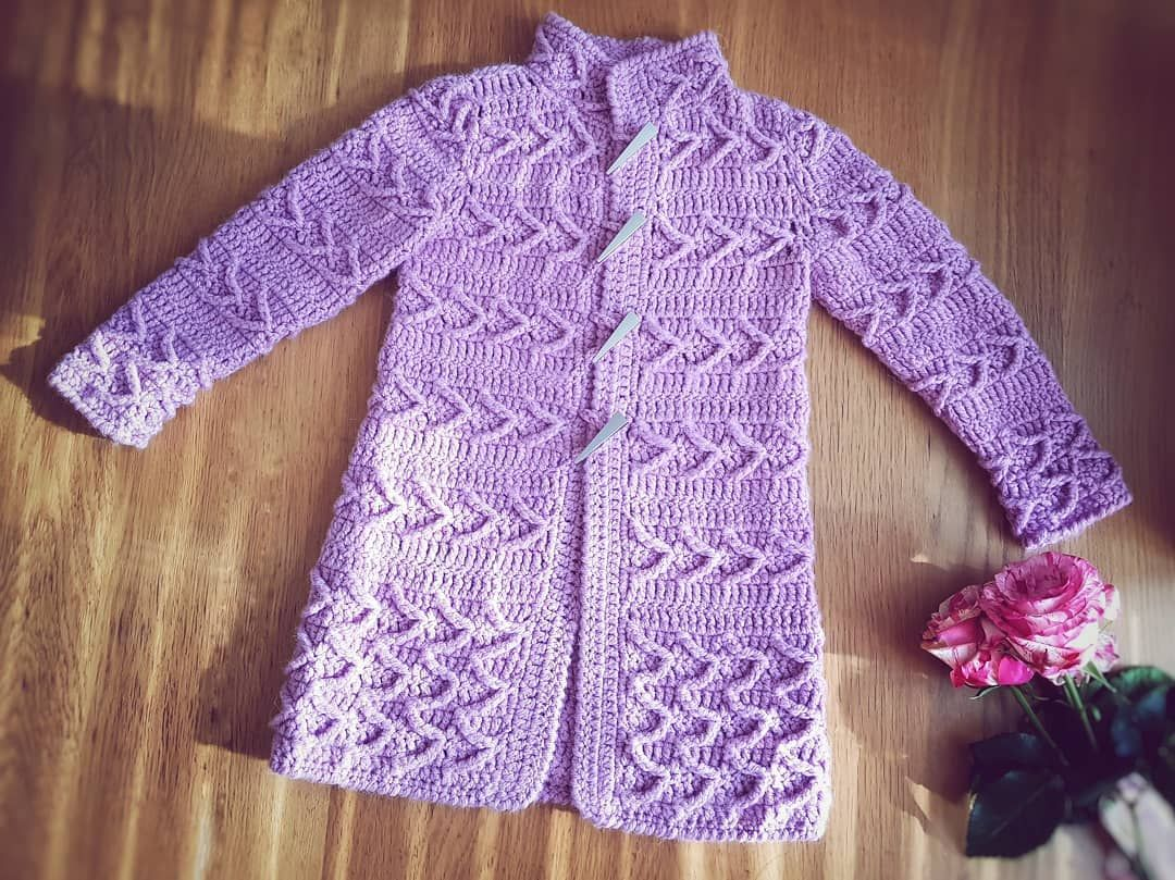 3343cf1f0b08 Free and Single Crochet Baby Sweater and Cardigans for new 2019 ...