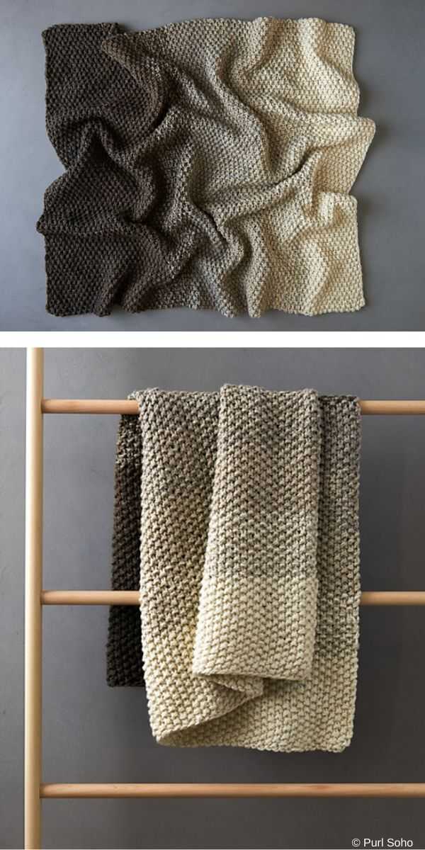 Bulky Throws Blankets Free Knitting Patterns