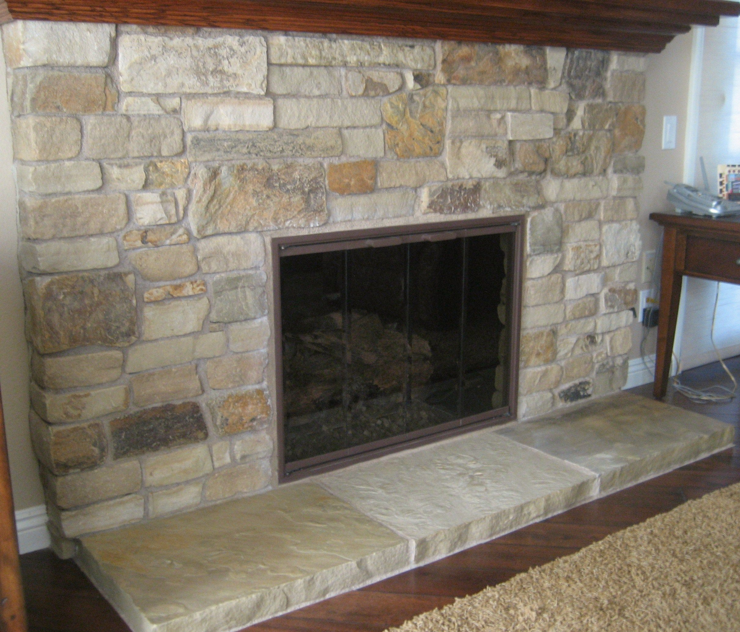 veneer this faux pin pinterest stone the for love fireplace home