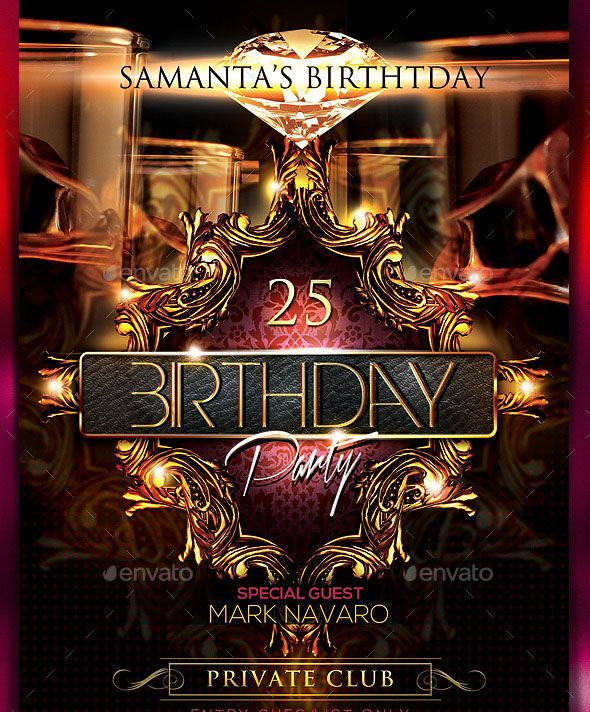 Birthday Party Flyer Big Birthday will be celebrating in the north - party flyer
