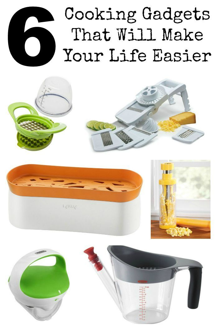 Beautiful 6 Kitchen Gadgets To Make Your Life Easier Collage Amazing Design