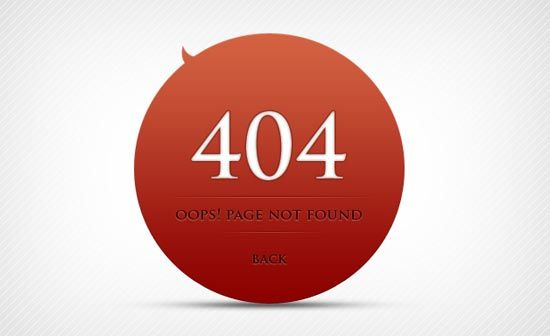 15 Free Html 404 Error Page Template