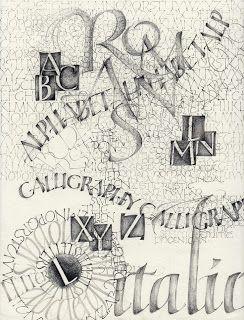 Calligraphy: Studio time