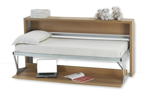 Italian Single Wall Bed Desk Down By Murphysofa This Is Exactly What I Want