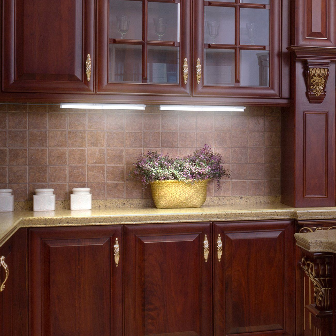 LED Concepts Under Cabinet Light Bar With 3 Color Options