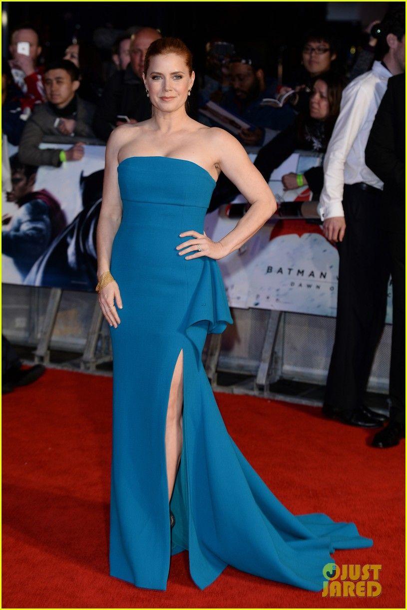 Amy Adams in a custom Antonio Berardi gown Jimmy Choo shoes