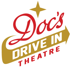 Docs Drive In Theater Final Logo Flat Drive In Theater Drive In Movie Theatre