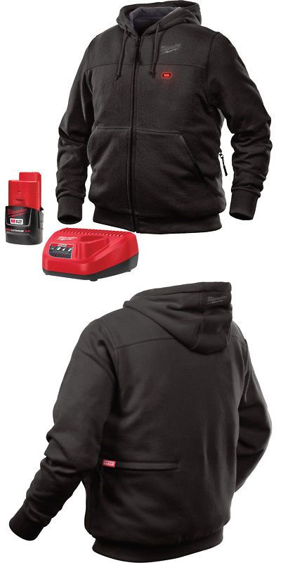 d71ef4c18ee Other Safety and Protective Gear 20798  Milwaukee 301B-213X M12 Heated  Hoodie Kit -