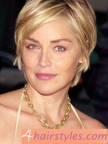 12 Impressive Sharon Stone Short Hairstyles Short Hair Pinterest