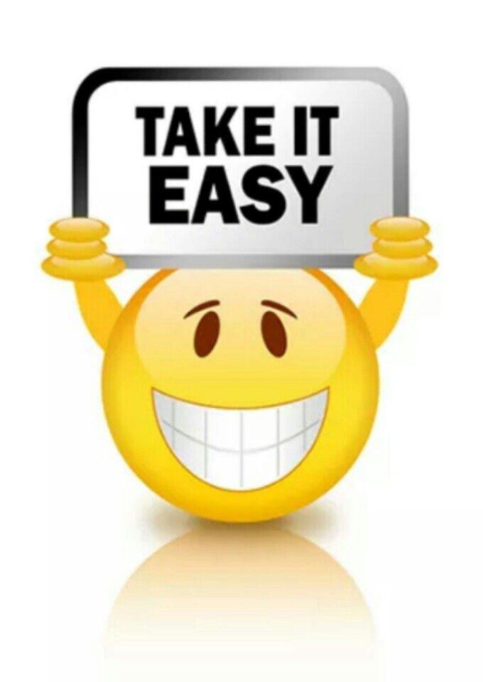 Take It Easy Funny Emoticons Emoticons Emojis Emoticon Faces