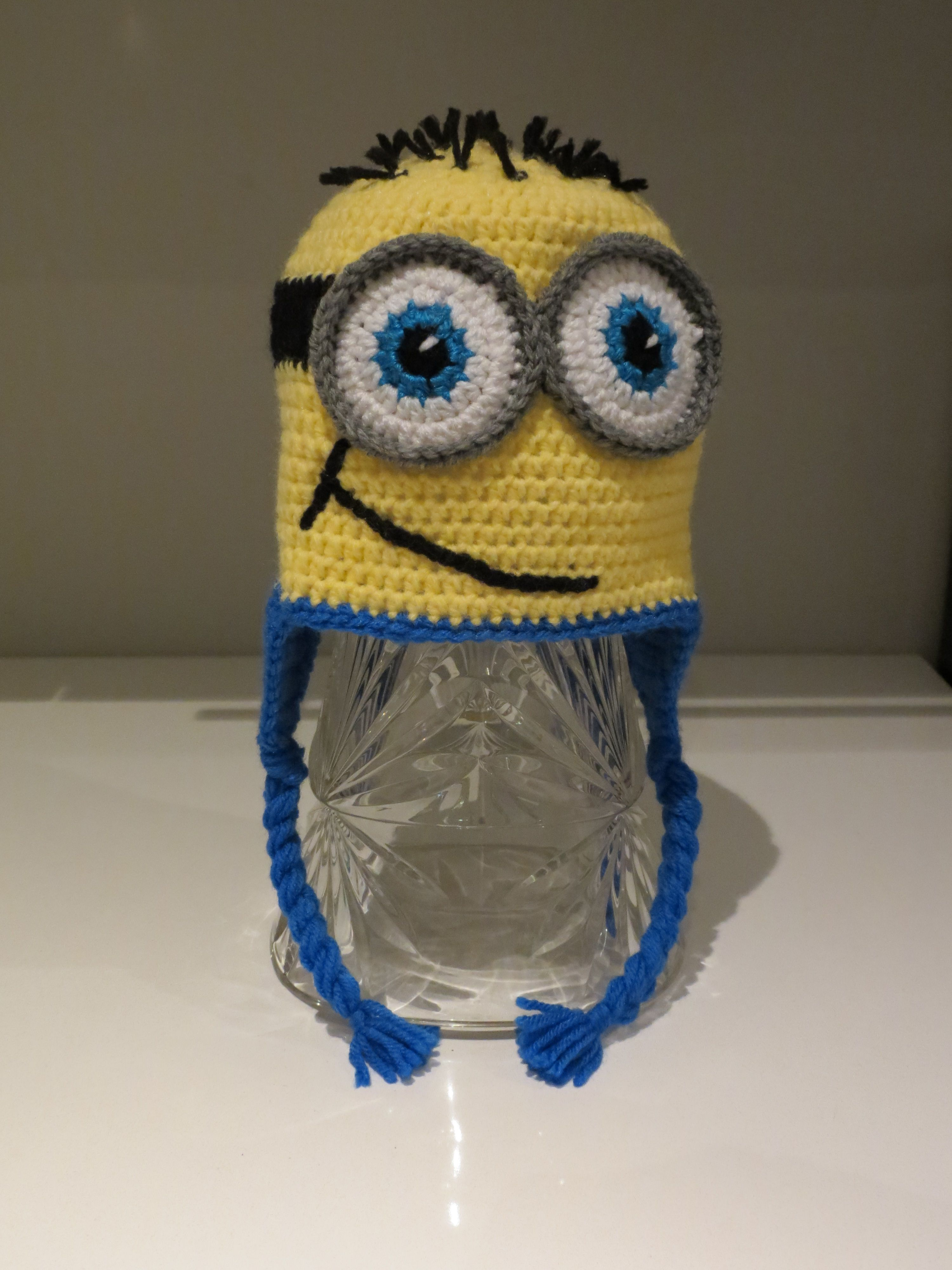 Minion crochet hat pattern from repeat crafter me chapeaux minion crochet hat pattern from repeat crafter me bankloansurffo Image collections