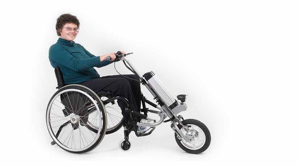Motorized attachment wheelchair manual handcycle assist for How to motorize a wheelchair