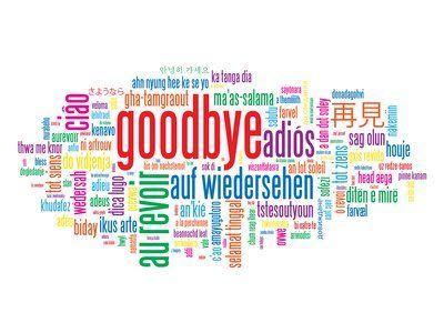 Farewell Speech Image  Teaching Ideas    Farewell