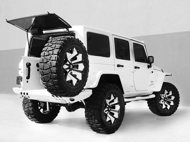 2016 Jeep Wrangler Unlimited Nav Leather Custom White Interior Custom Jeep Dream Cars Jeep Custom Jeep Wrangler