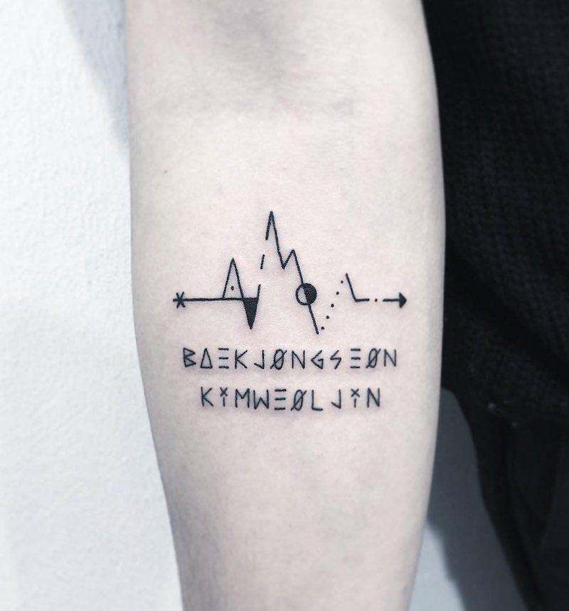 Pin On Best Lifeline Tattoos