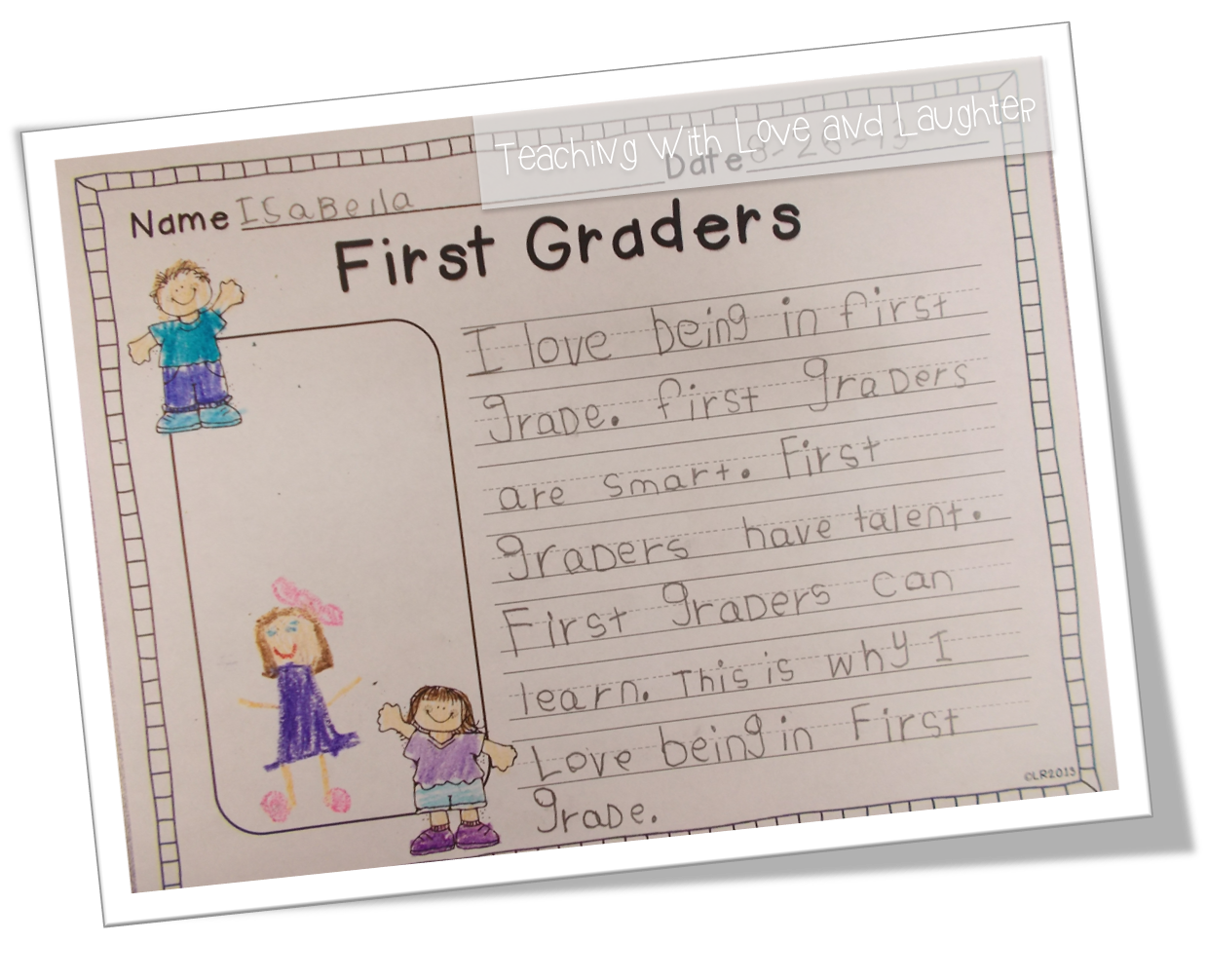 Teaching With Love And Laughter Kindergarten And First