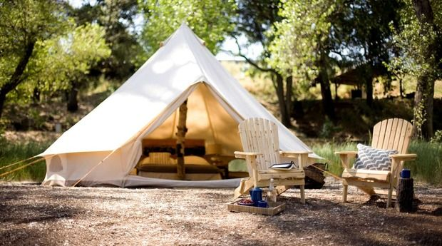 The only way I'd go camping... | Luxury camping, Tent ...