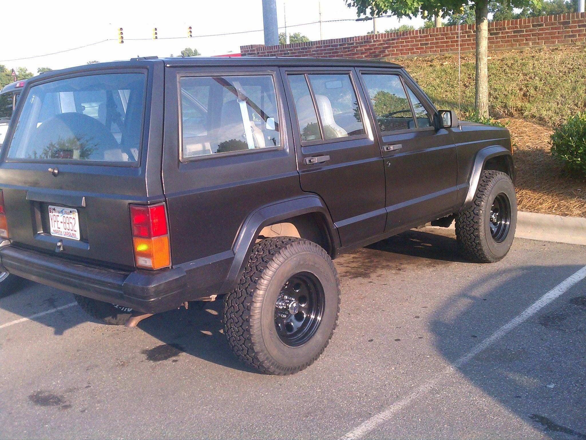 """3"""" 15x8 4BS 31x10 50 Jeep Cherokee XJ Pinterest"""