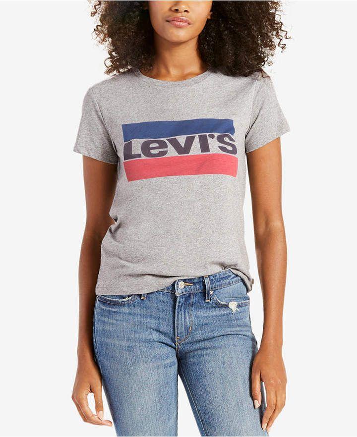 05861aa5a Levi's Perfect Cotton Graphic T-Shirt | Pinterest