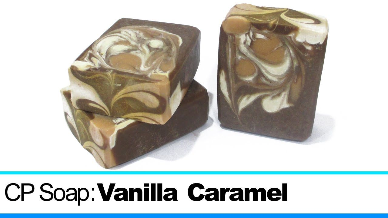 Vanilla Caramel, Cold Process Soap Making and Cutting, 3rd Loaf