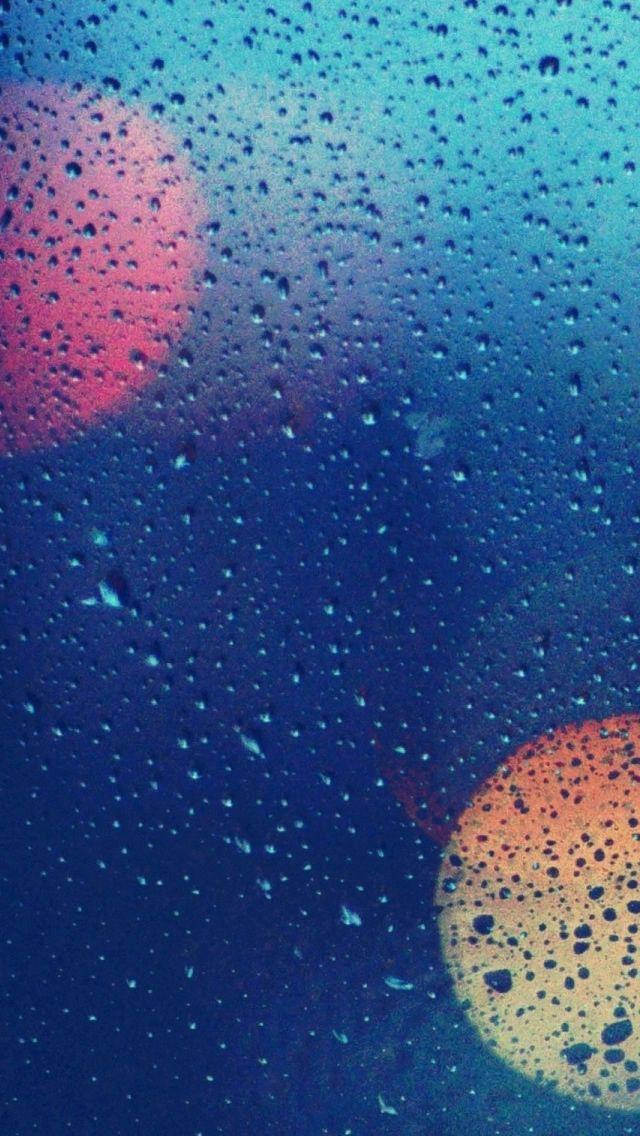 Wet Glass 2 iPhone 5s Wallpaper Download iPhone