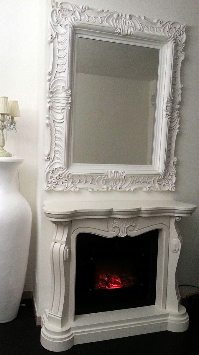 faux fireplace finto camino luigi xv con camino elettrico
