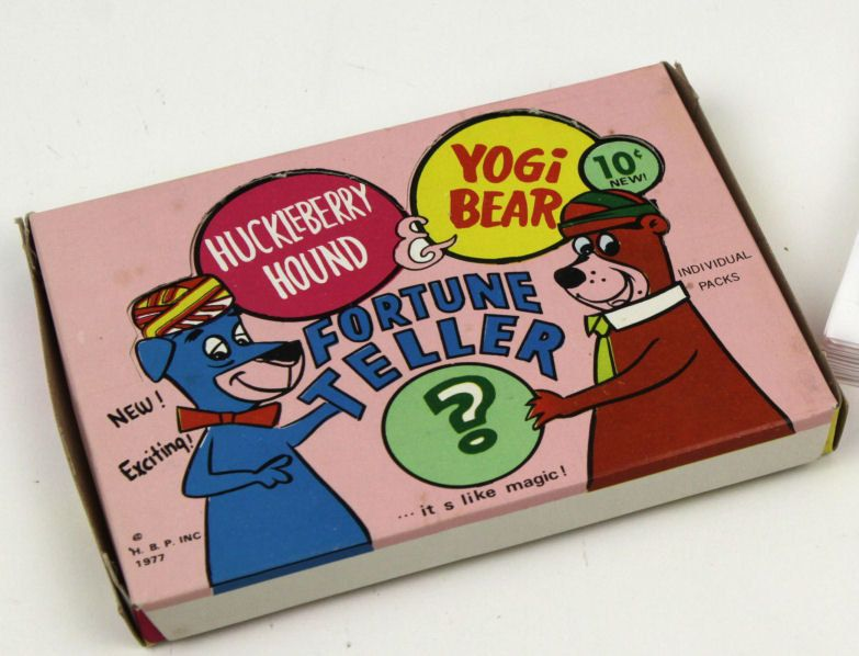 Carnival Toy Box Pink: 1977 Yogi Bear Fortune Teller Novelty Carnival Toy In 2019