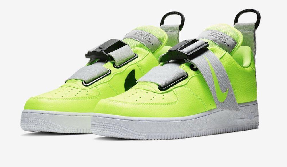 6401425444547b Nike Air Force 1 Utility Volt Size 11.5 AO1531-700 (18301-1AE ...