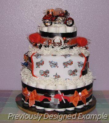 harley davidson baby shower harley davison diaper cake jpg custom