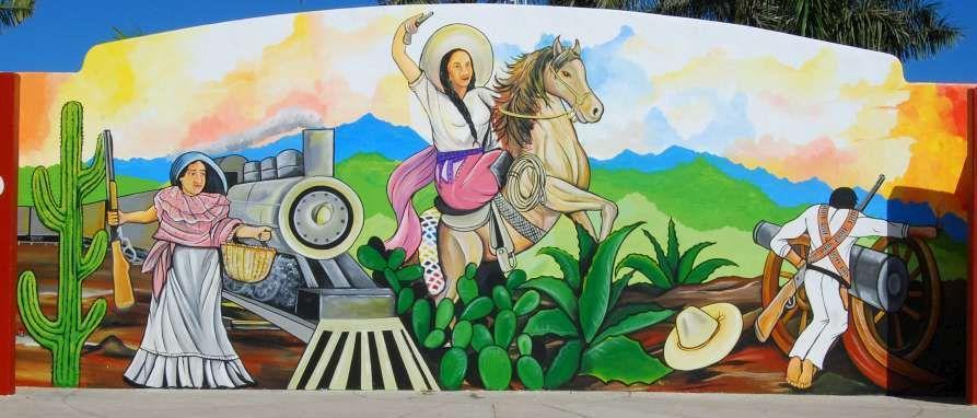 Mural De La Revolucion Mexicana