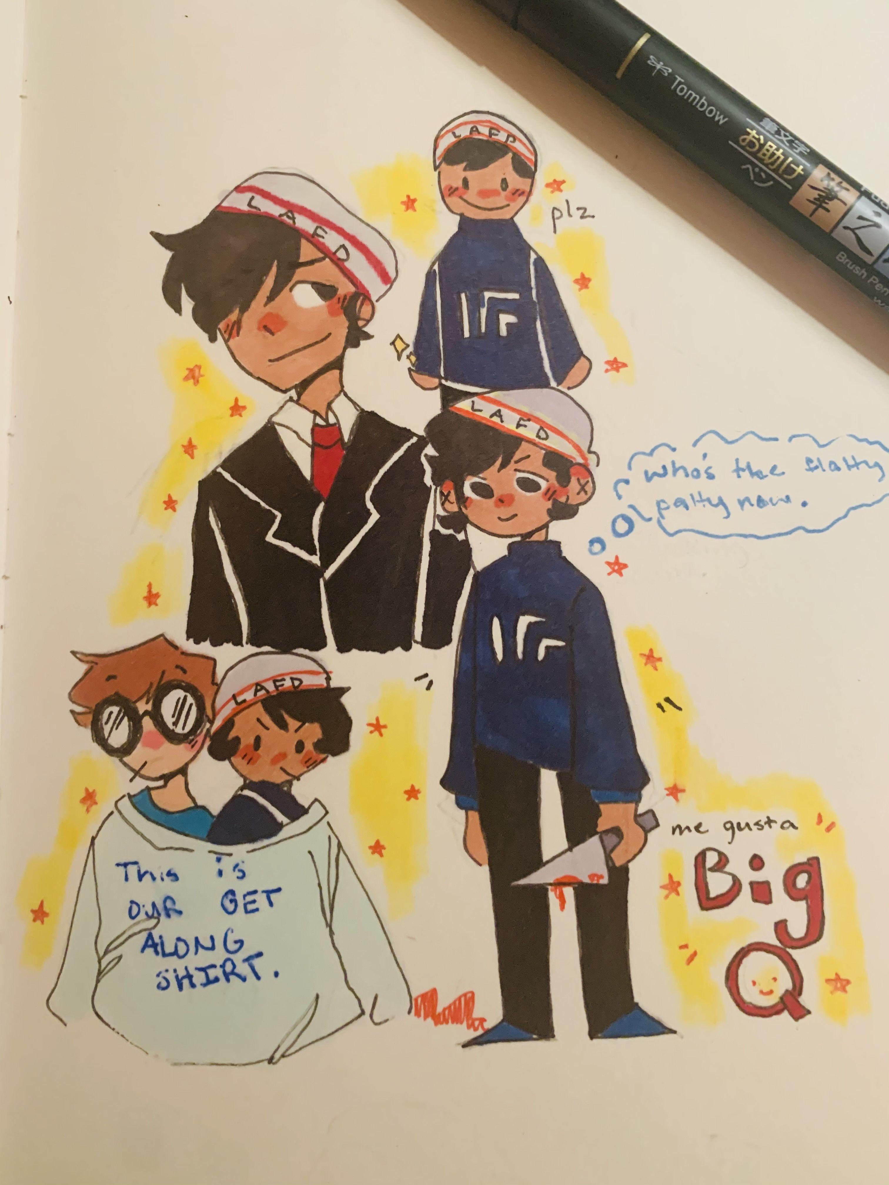 Big Q Ayyyy My Dream Team Character Design Inspiration Minecraft Fan Art