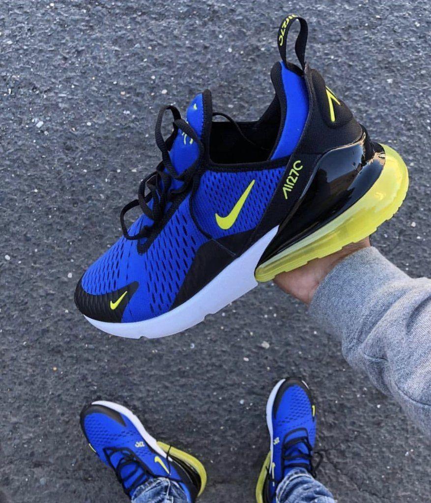 AIR MAX 270 NEON BLUE #Sneakers   Blue