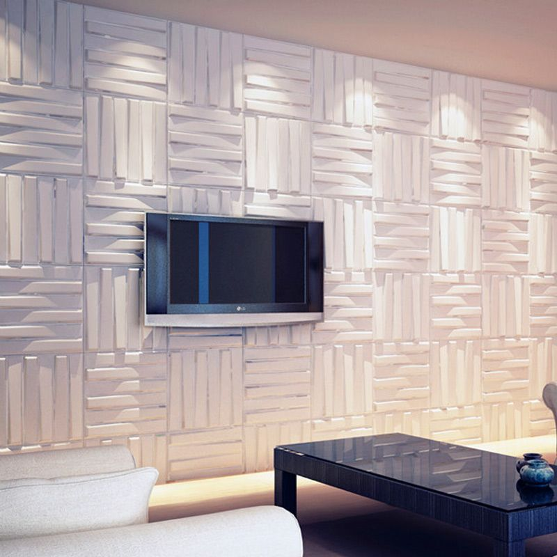Wall Flats 3d Decorative Wall Panels 1 Box 12 Pieces 32 Sq Ft Plastic Wall Panels Decorative Wall Panels Wall Paneling