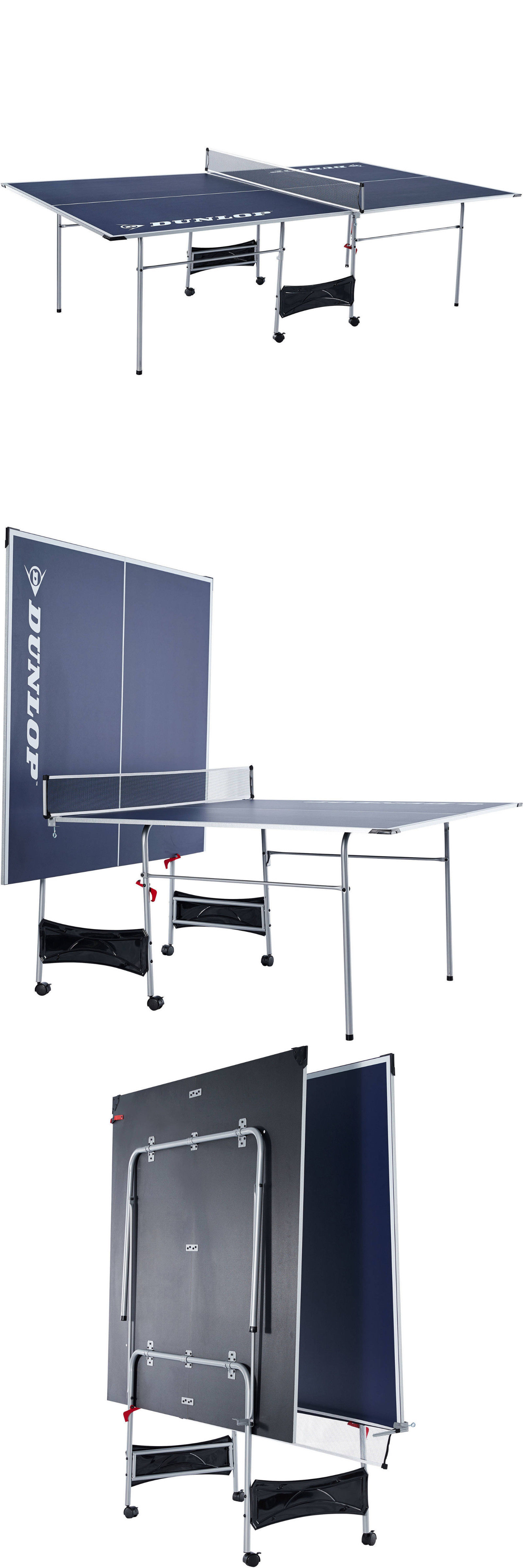Tables 97075: New Dunlop Official Size Table Tennis Table Folding Ping Pong  Indoor Outdoor Set