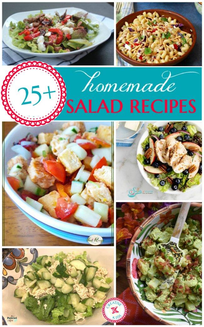 Tasty Tuesdays 25 Salad Recipes Creative K Kids Salad Recipes Easy Salad Recipes Chicken Salad Recipes