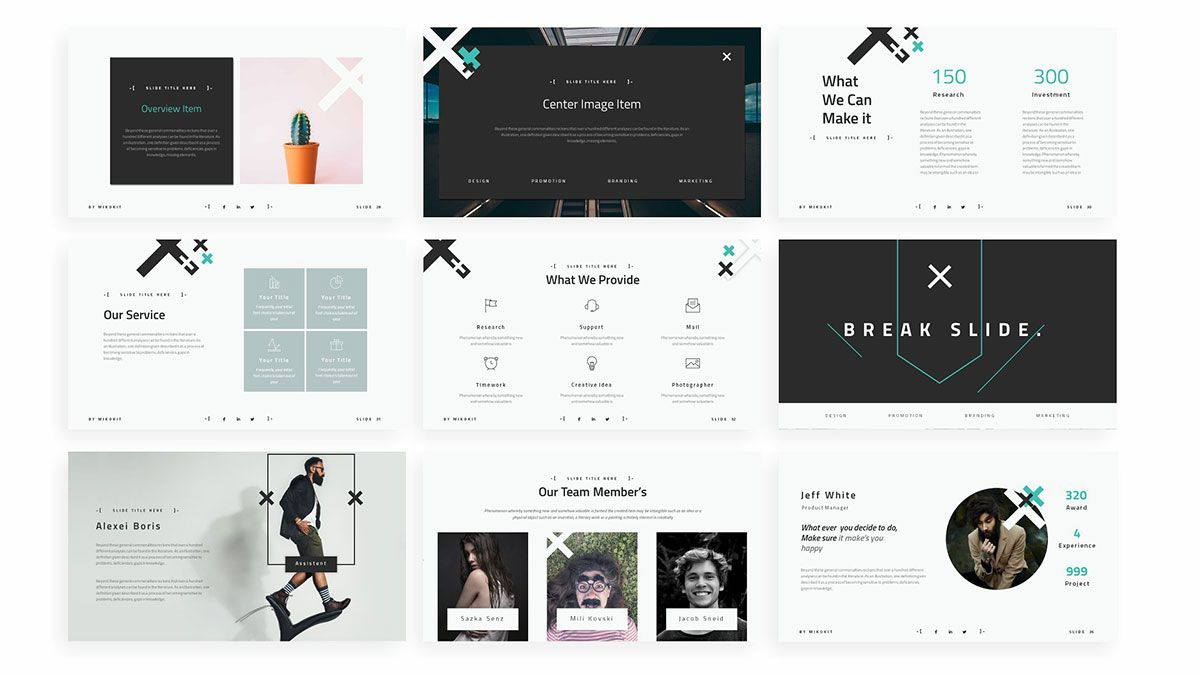 Zeen Aesthetic Free Powerpoint Template Powerpointify In 2020 Powerpoint Templates Powerpoint Presentation Template Free