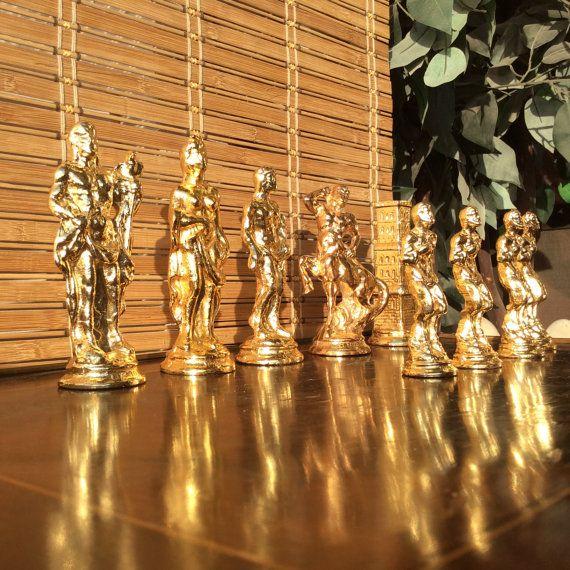 Большие размеры пур меди шахматных фигур штук 28 штук от Originaz