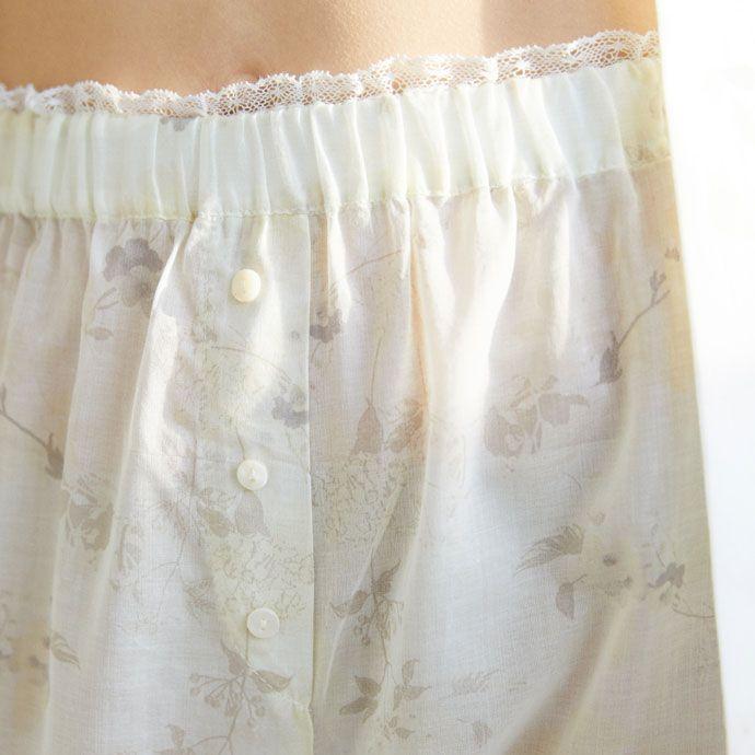 Imagen 3 del producto Pantalón algodón estampado floral