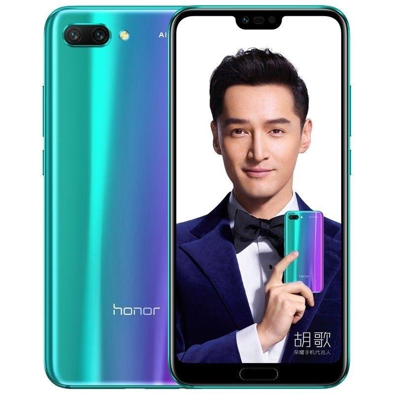 Huawei Honor 10 Col L29 4gb 128gb Dual Sim Sim Free Unlocked International Version Phantom Green Camera S