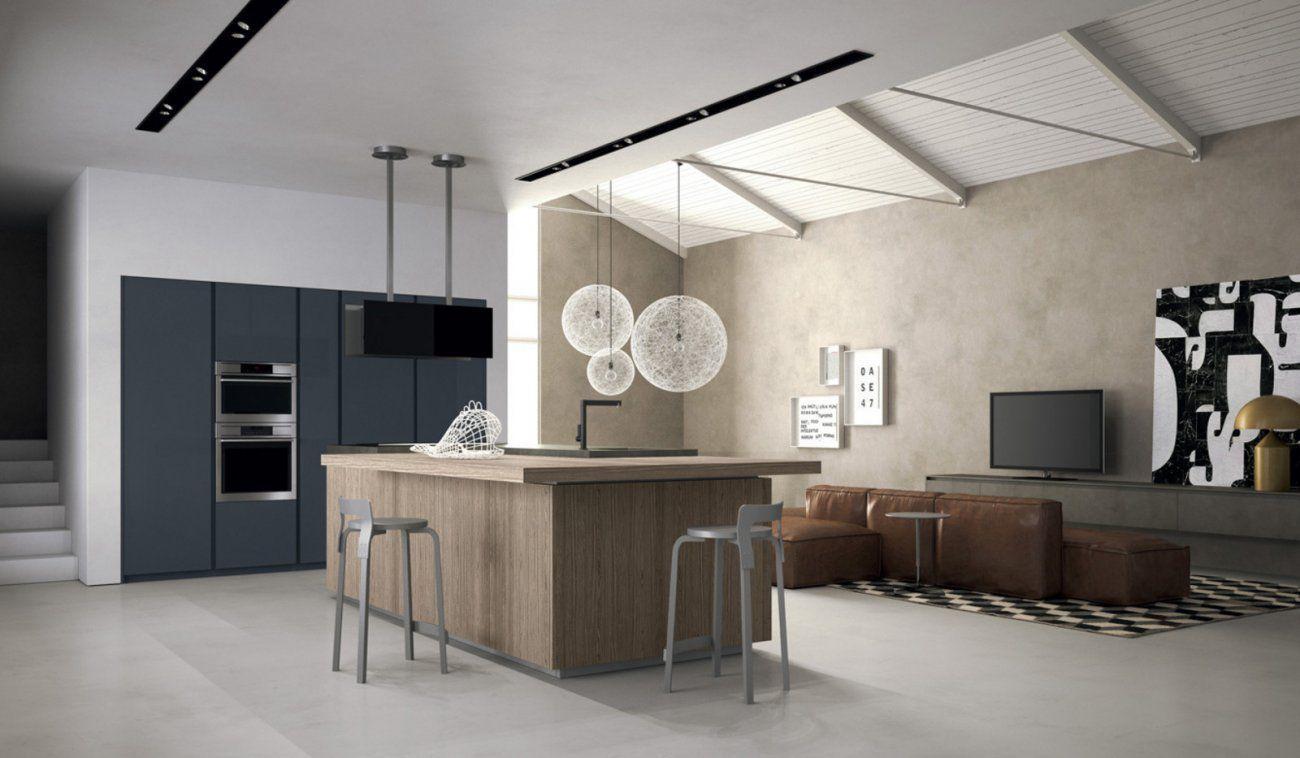 Contemporary kitchen / melamine / oak / elm - STYLE - DOIMO CUCINE ...