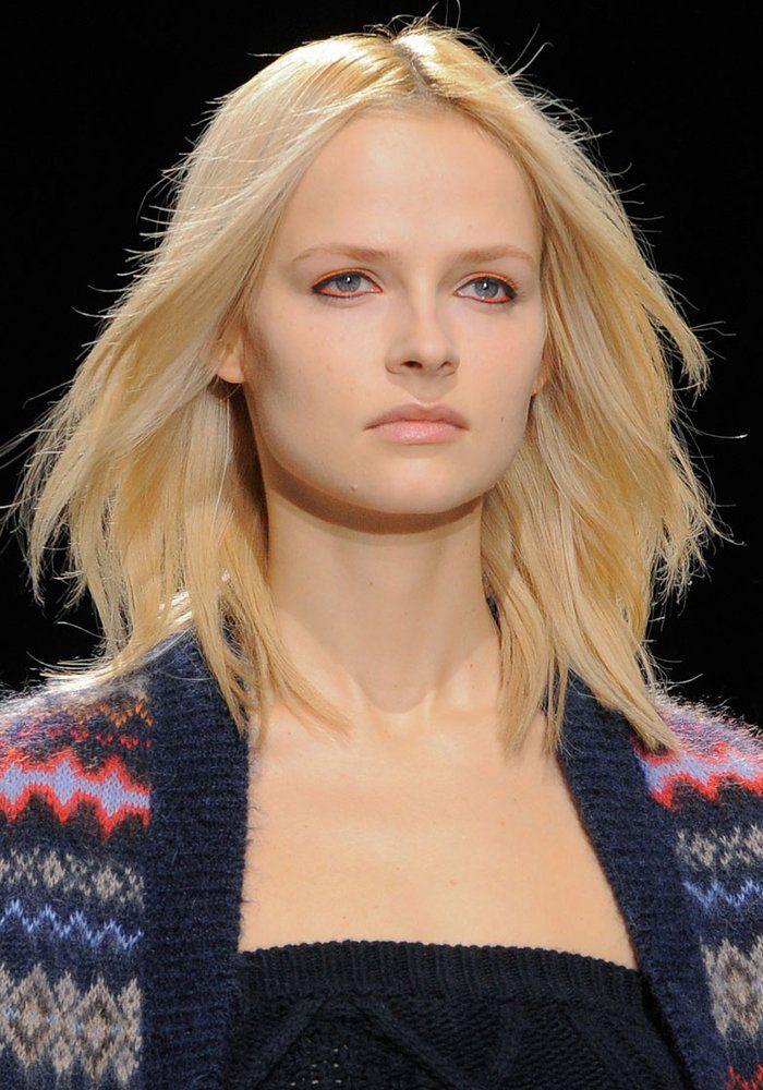 Inspiration coiffure : les plus belles coupes de cheveux mi-longs | Belle coupe de cheveux ...