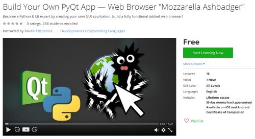 Build Your Own PyQt App Web Browser Mozzarella Ashbadger