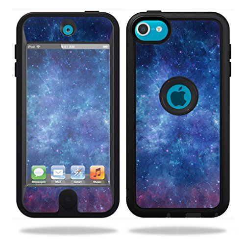 MightySkins Protective Vinyl Skin Decal Cover for OtterBox Defender Apple iPod Touch 5G 5th Generation Case Sticker Skins Nebula MightySkins
