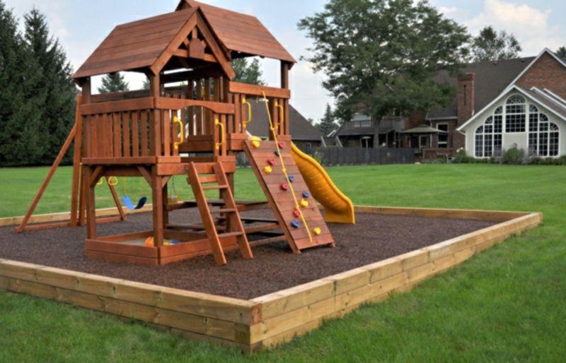 Spielplatz Selber Gestalten klettergerüst im garten eine fantastische spielecke für die kinder