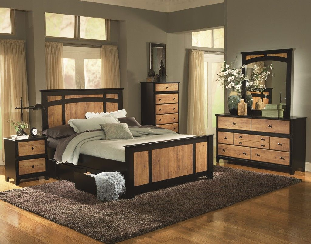 Bedroom ~ Country Style Bedroom Furniture Double King Queen Bed