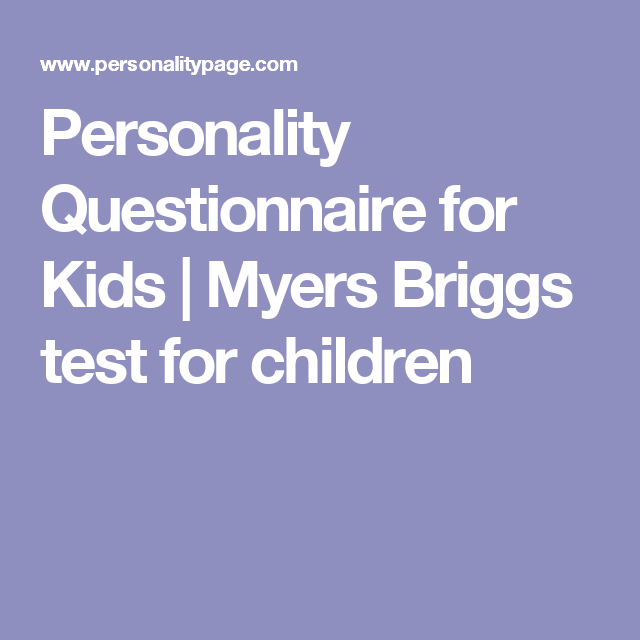 image regarding Myers Briggs Test for Students Printable known as Pin upon Homeschool