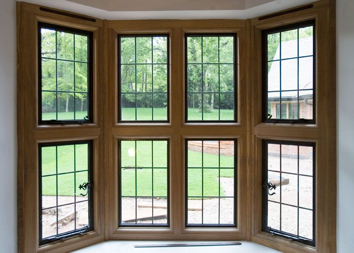 Timber Surrounds & Mullions for our metal windows | Metal ...