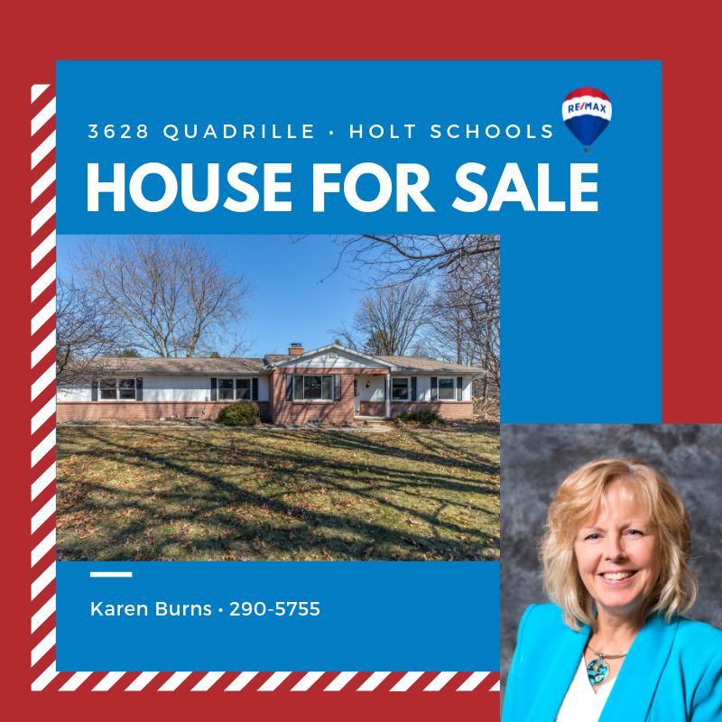 Karen Burns Real Estate Agent Lansing Mi Re Max Michigan Realtor Michigan Houses For Sale In Holt Public Schools And Dimondale Holt School Lansing Mi Lansing