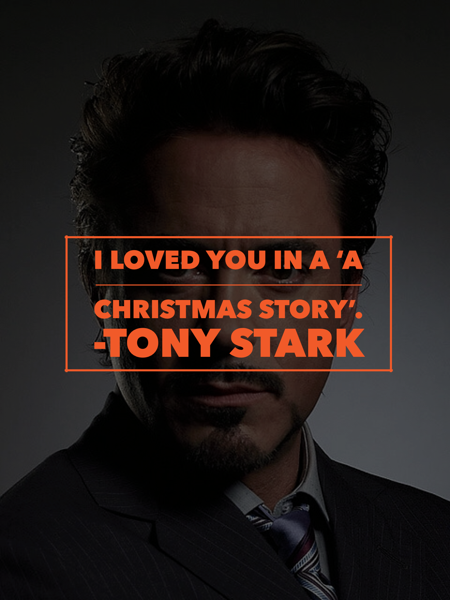 marvel character quote • tony stark