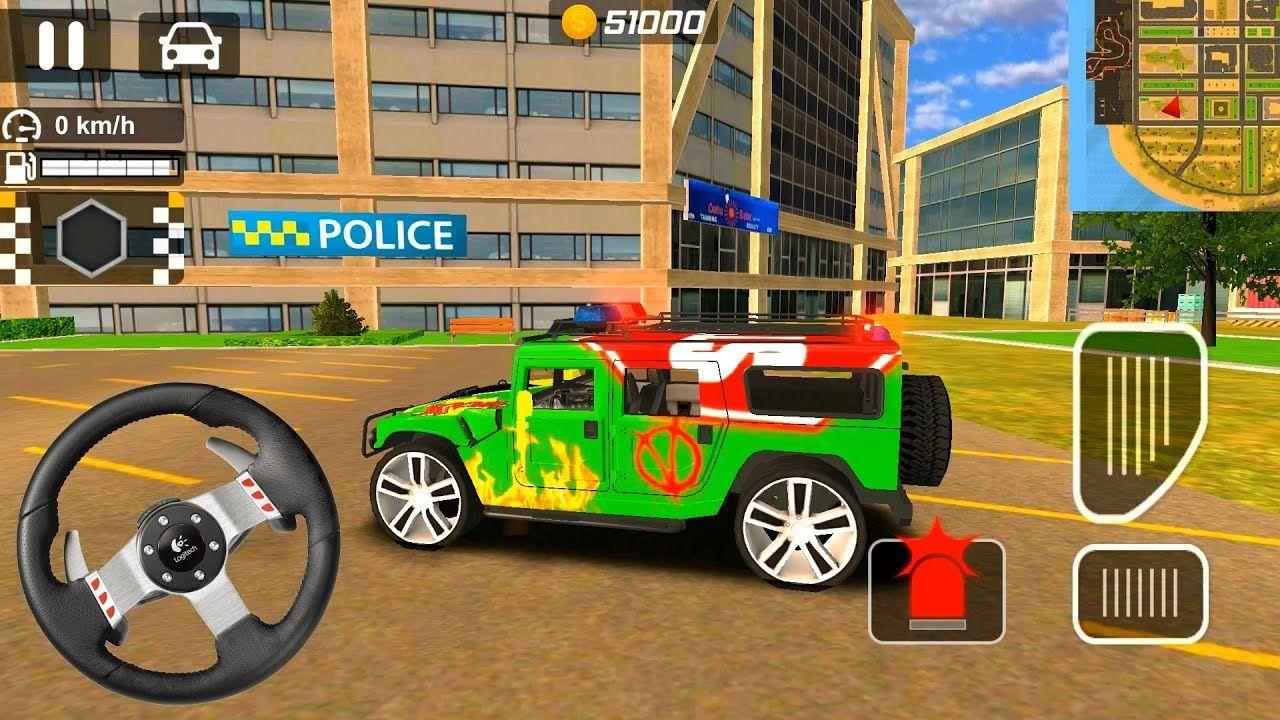 ألعاب السيارات للأطفال قيادة سيارة شرطة ألعاب السيارات للأطفال سيارات اطفال Kids Cars Https Youtu Be 4mhcgzgviiy Monster Trucks Police Car
